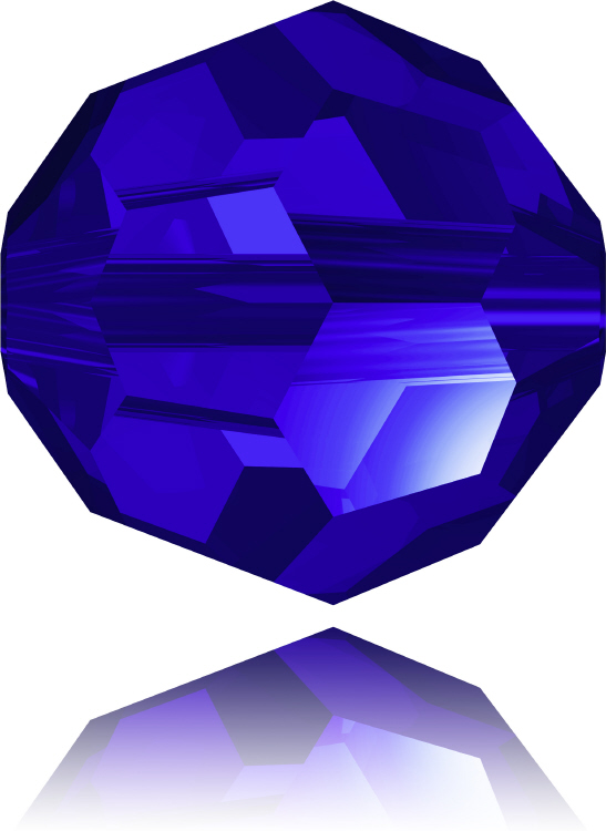 5000 Faceted Round - 4mm Swarovski Crystal - MAJESTIC BLUE