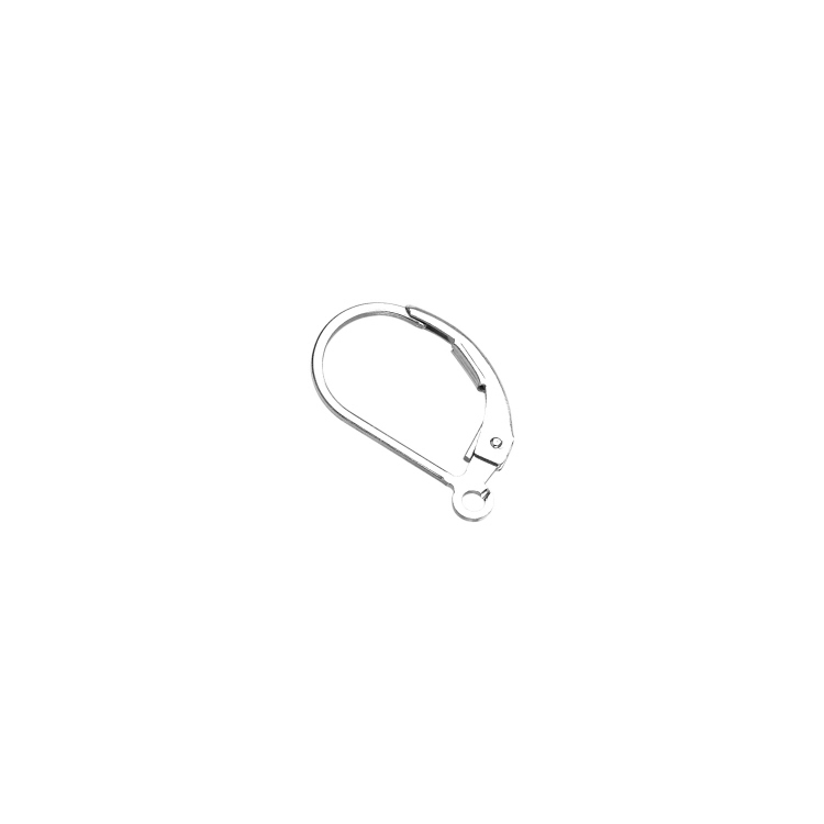Leverback  Plain   - Sterling Silver