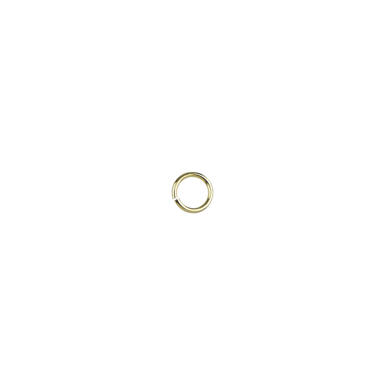 6mm Jump Rings (21 guage) - Gold Filled
