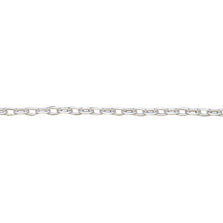 Fancy Cable Chain 1.7 x 3.2mm- Sterling Silver
